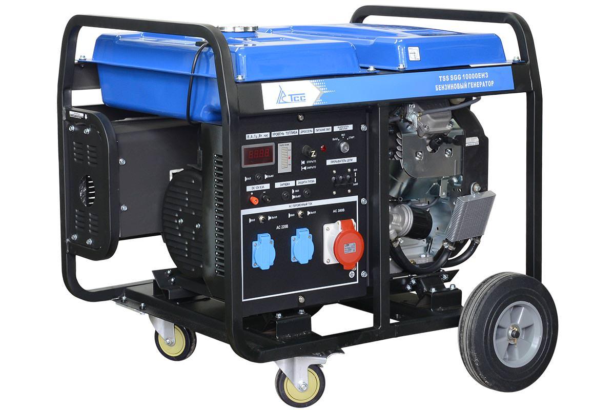 Бензогенератор TSS SGG 10000EH-3