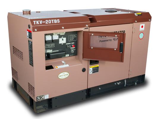 Внешний вид TOYO TKV-20 TBS в шумозащитном кожухе