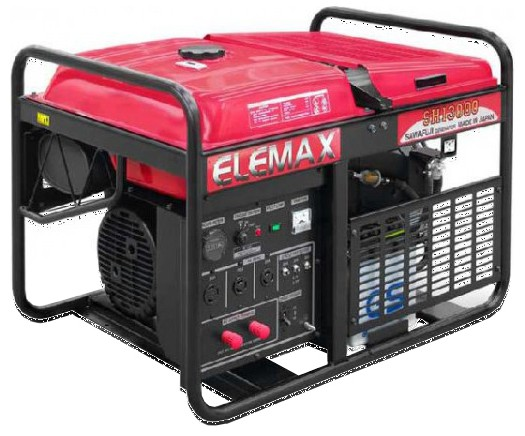 Бензогенератор Elemax SHT 15000 R