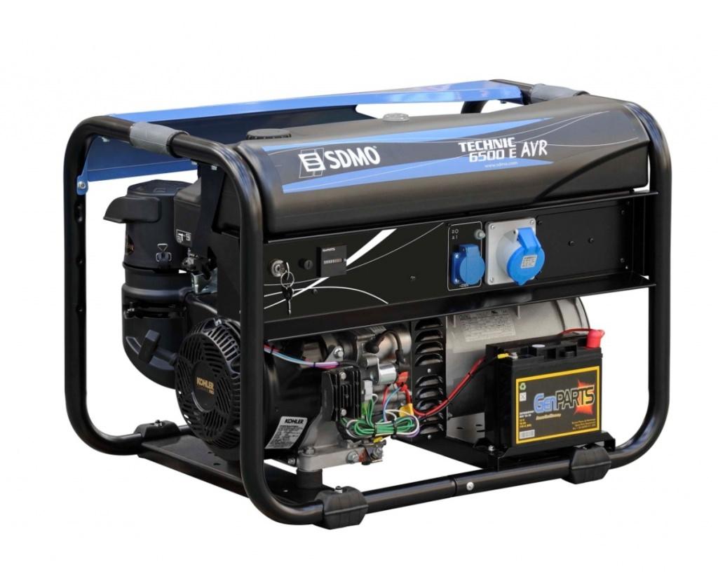 Внешний вид SDMO TECHNIC 6500 E AVR