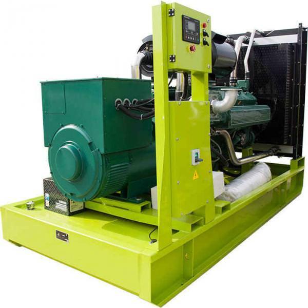 Дизельная электростанция MOTOR АД-600-Т400 открытая на раме