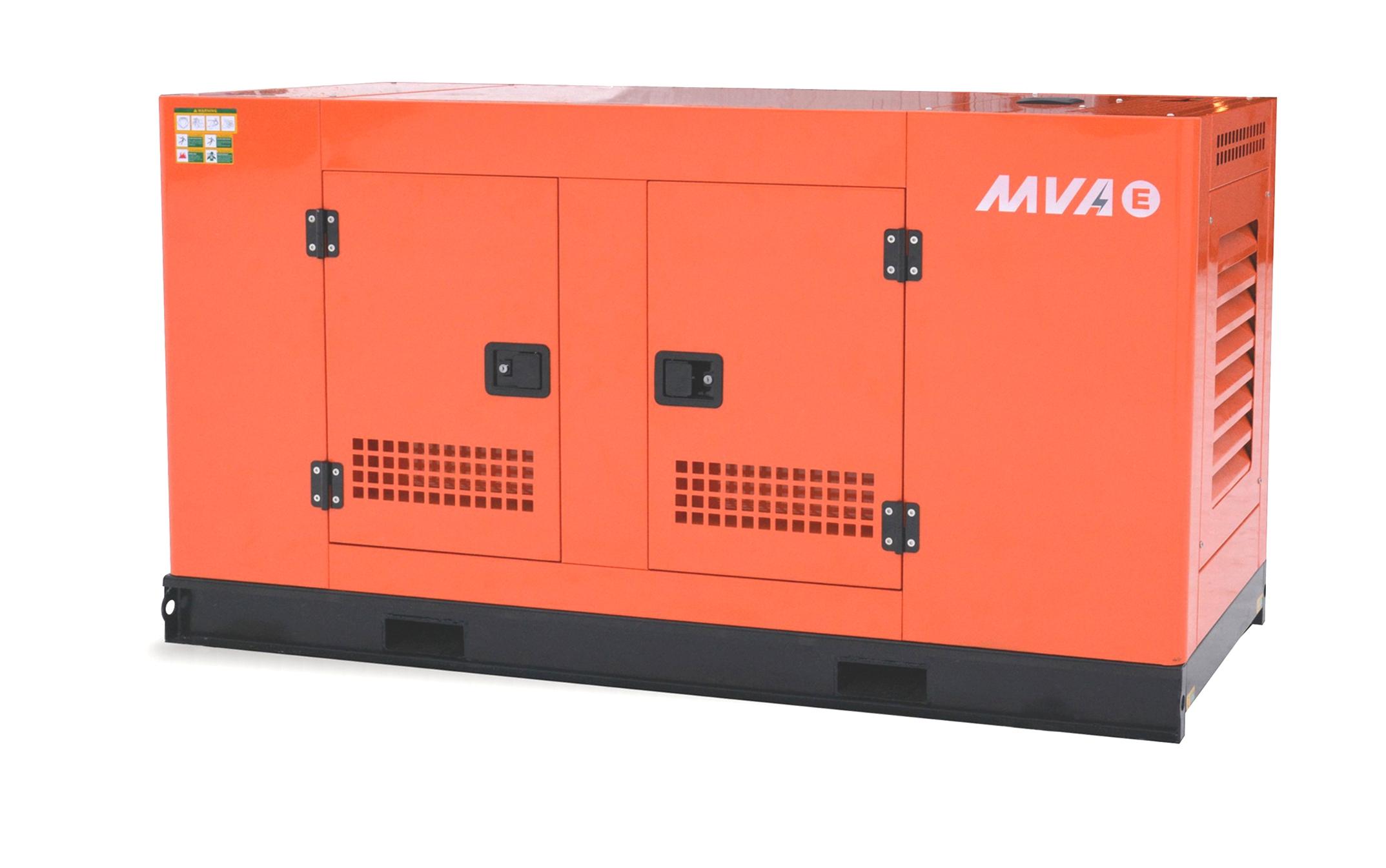Внешний вид MVAE АД-50-400-АРК в кожухе с АВР