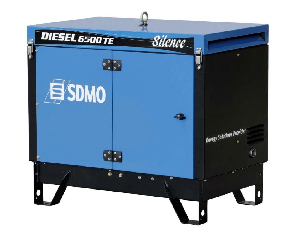 Внешний вид SDMO DIESEL 6500 TE AVR SILENCE