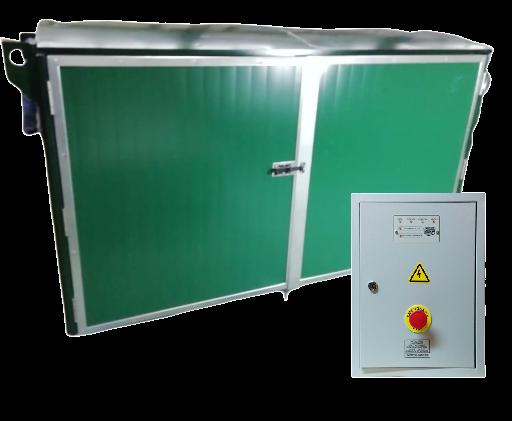 Дизель генератор YAMAHA EDL 21000 E с АВР в контейнере