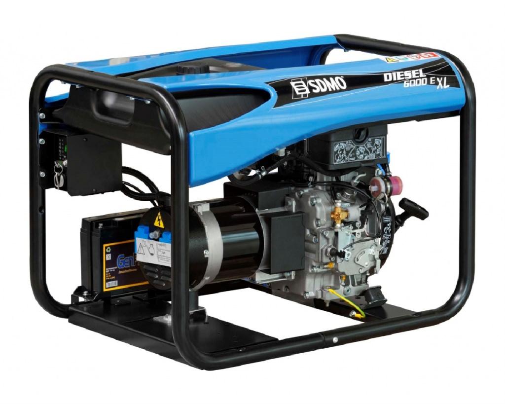 Внешний вид SDMO DIESEL 6000 E XL C