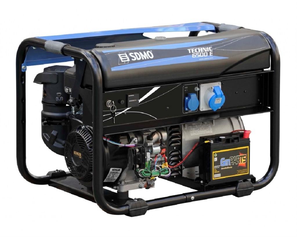 Внешний вид SDMO TECHNIC 6500 E