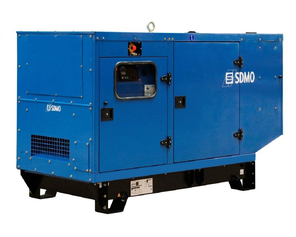 SDMO J110K в кожухе