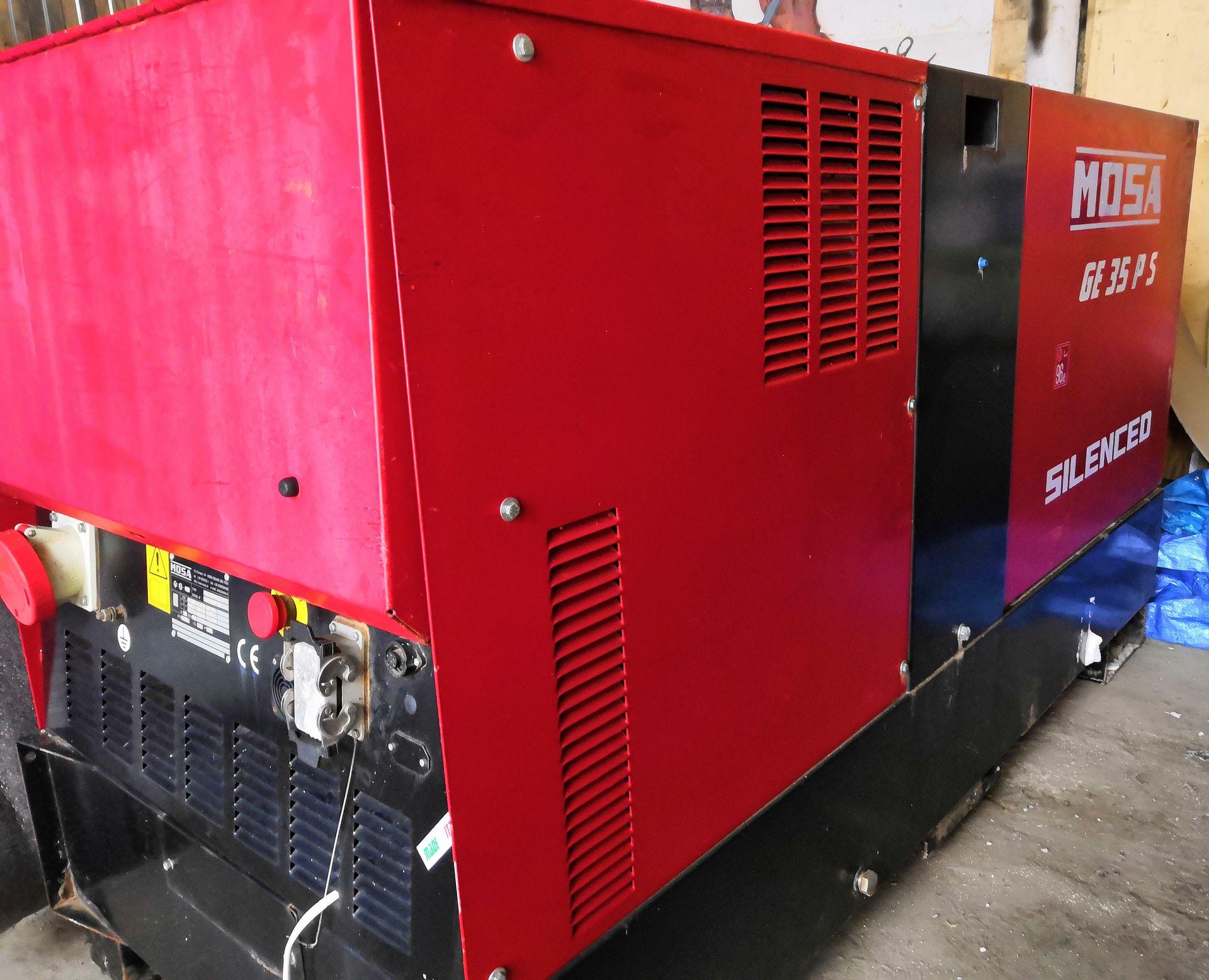 БУ Дизель-генератор MOSA GE 35 PS в кожухе 1