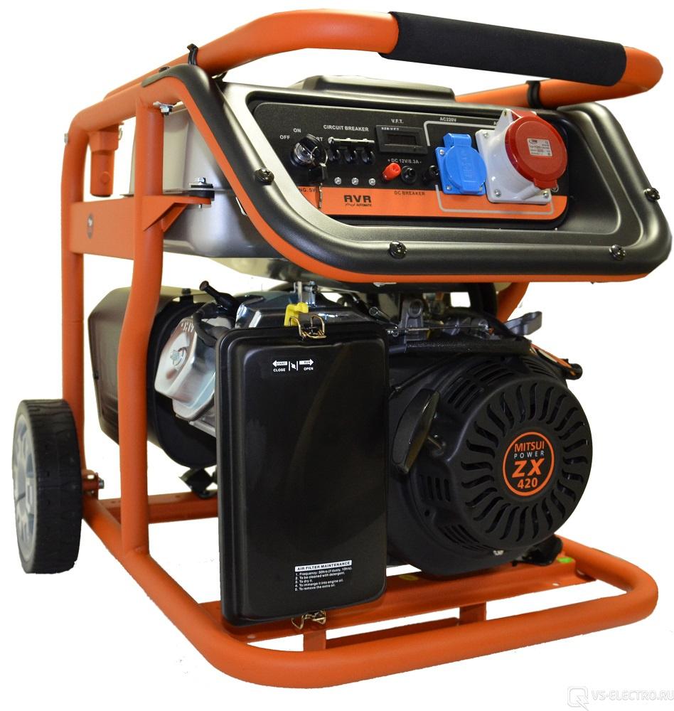Бензогенератор MITSUI Power ECO ZM 7500 E-3