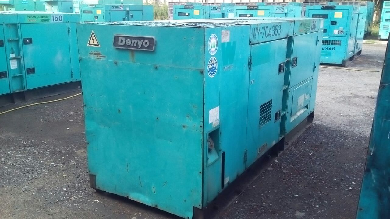 Внешний вид Denyo DCA 150 бу c наработкой