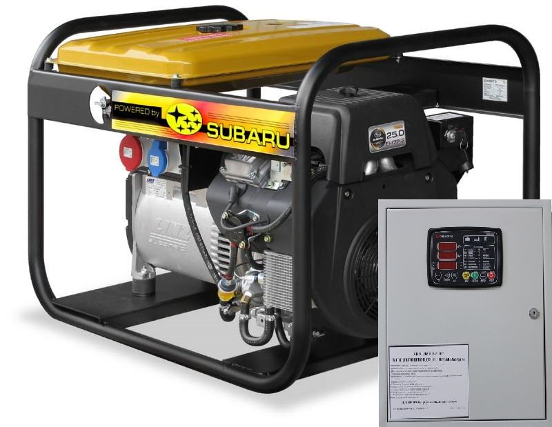 Внешний вид Energo EB 13.5/400SLE с автозапуском АВР