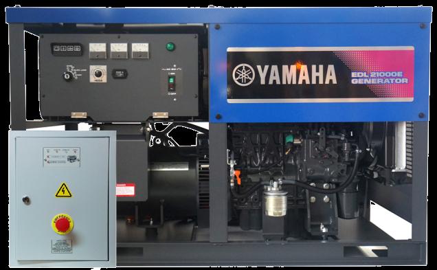 Внешний вид YAMAHA EDL 21000 E с АВР