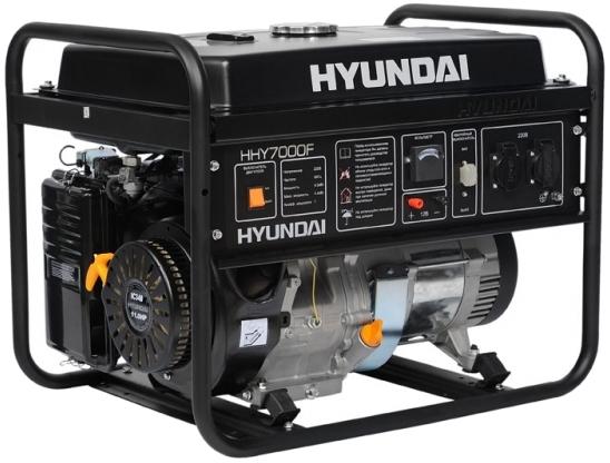 Бензогенератор Hyundai HHY 7010 F