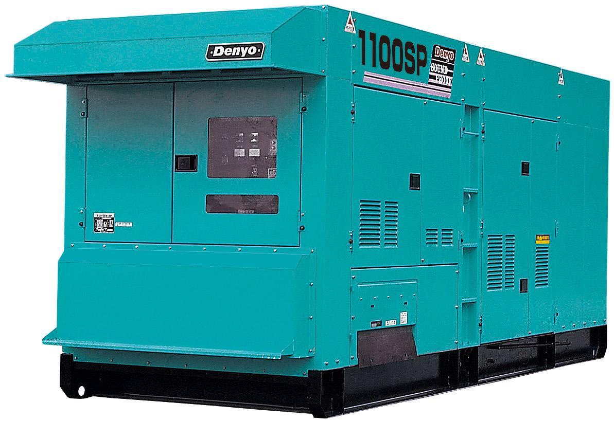 Внешний вид Denyo DCA-1100SPM