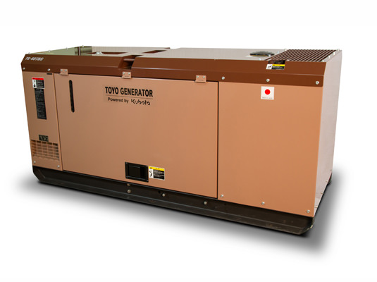 Внешний вид TOYO TG-40 TBS в шумозащитном кожухе