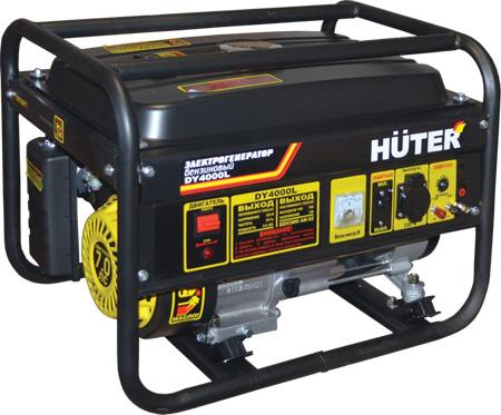 Бензогенератор Huter DY 4000 L