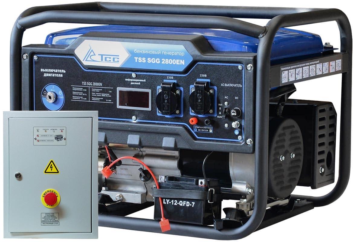 Внешний вид TSS SGG 2800EN с автозапуском