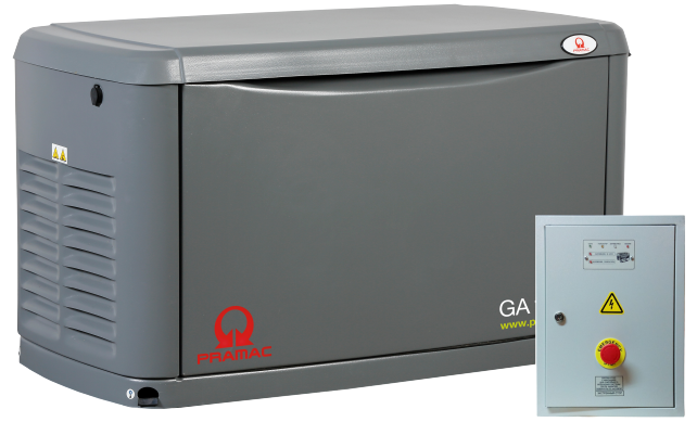 Внешний вид PRAMAC GA13000 с автозапуском