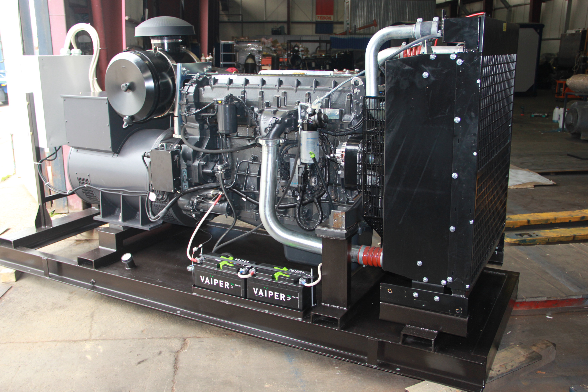 Внешний вид IVECO АД-250С-Т400-2РИ с АВР