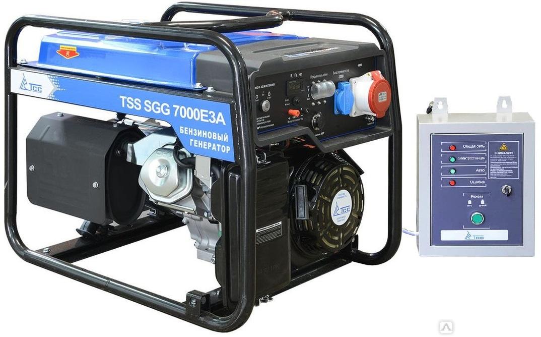 Бензогенератор TSS SGG 7000 E3A с автозапуском АВР