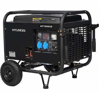 Бензогенератор Hyundai HY 7000 SE
