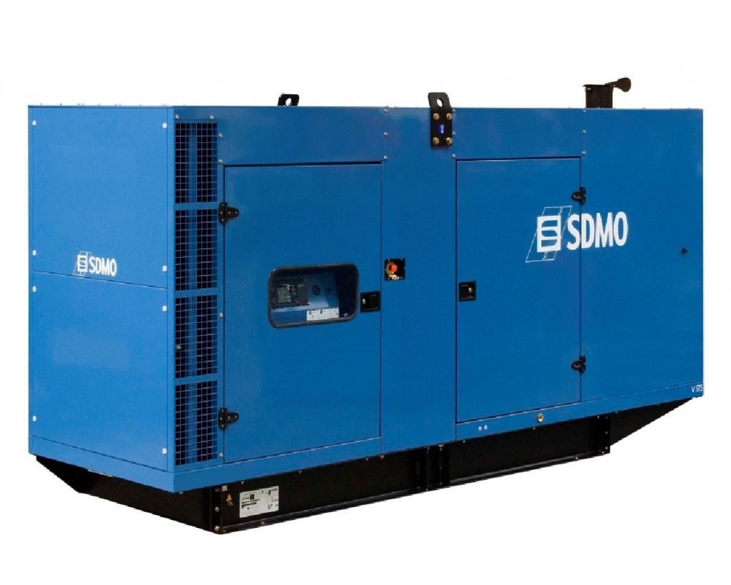 SDMO V400 в кожухе