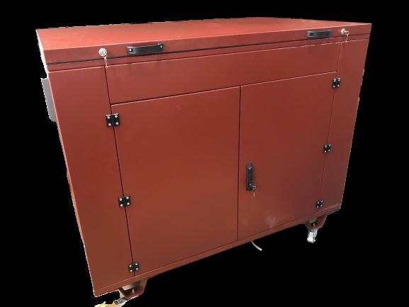 Внешний вид YAMAHA EF 17000 TE в контейнере