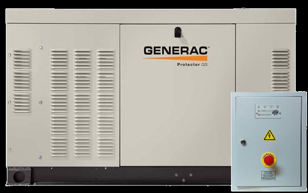 Внешний вид GENERAC RG 022 3P с автозапуском