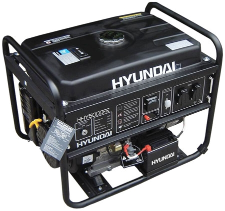 Бензогенератор Hyundai HHY 5010 FE