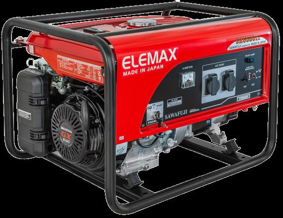 Бензогенератор Elemax SH 6500 EX-RS