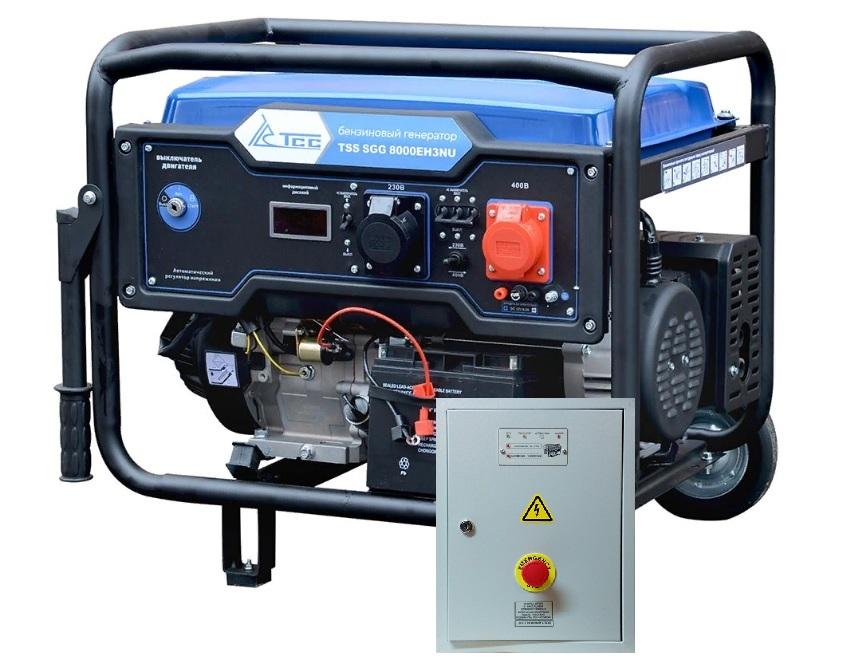 Внешний вид TSS SGG 9000 EH3NU с автозапуском АВР