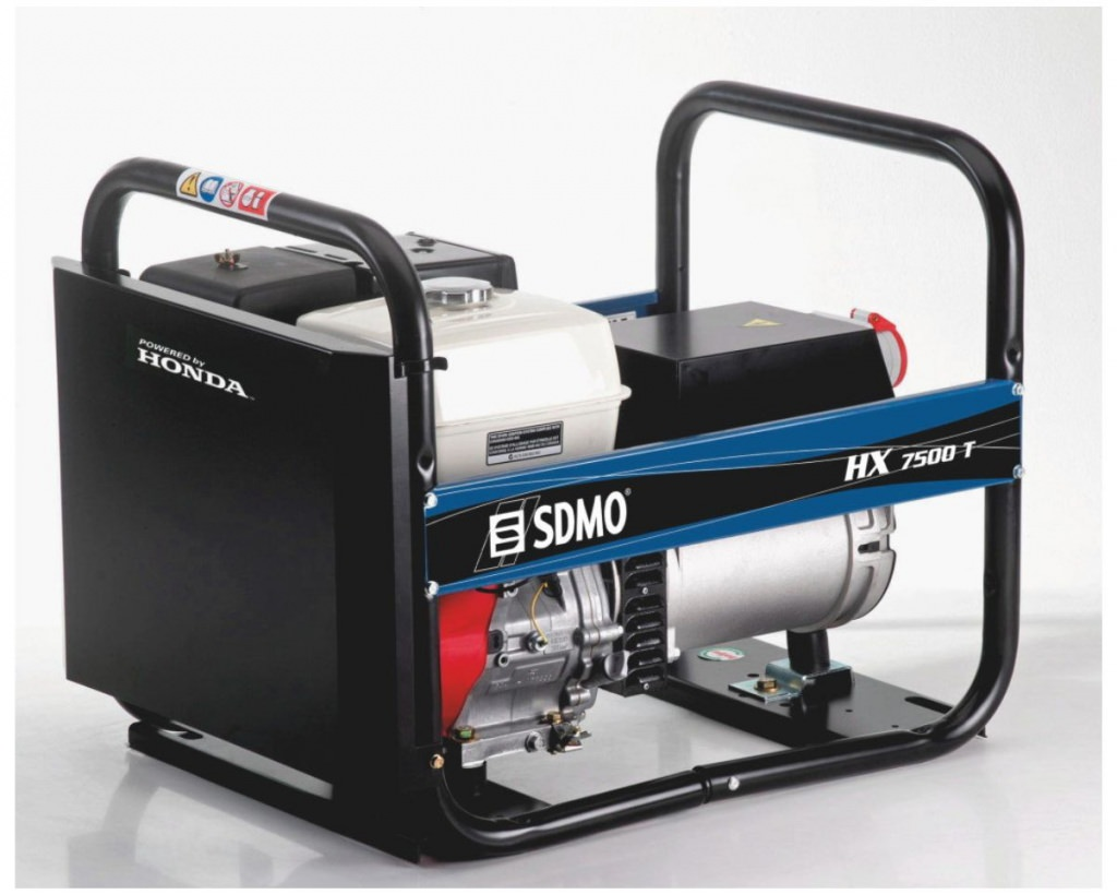 Внешний вид SDMO INTENS HX 7500 T-С