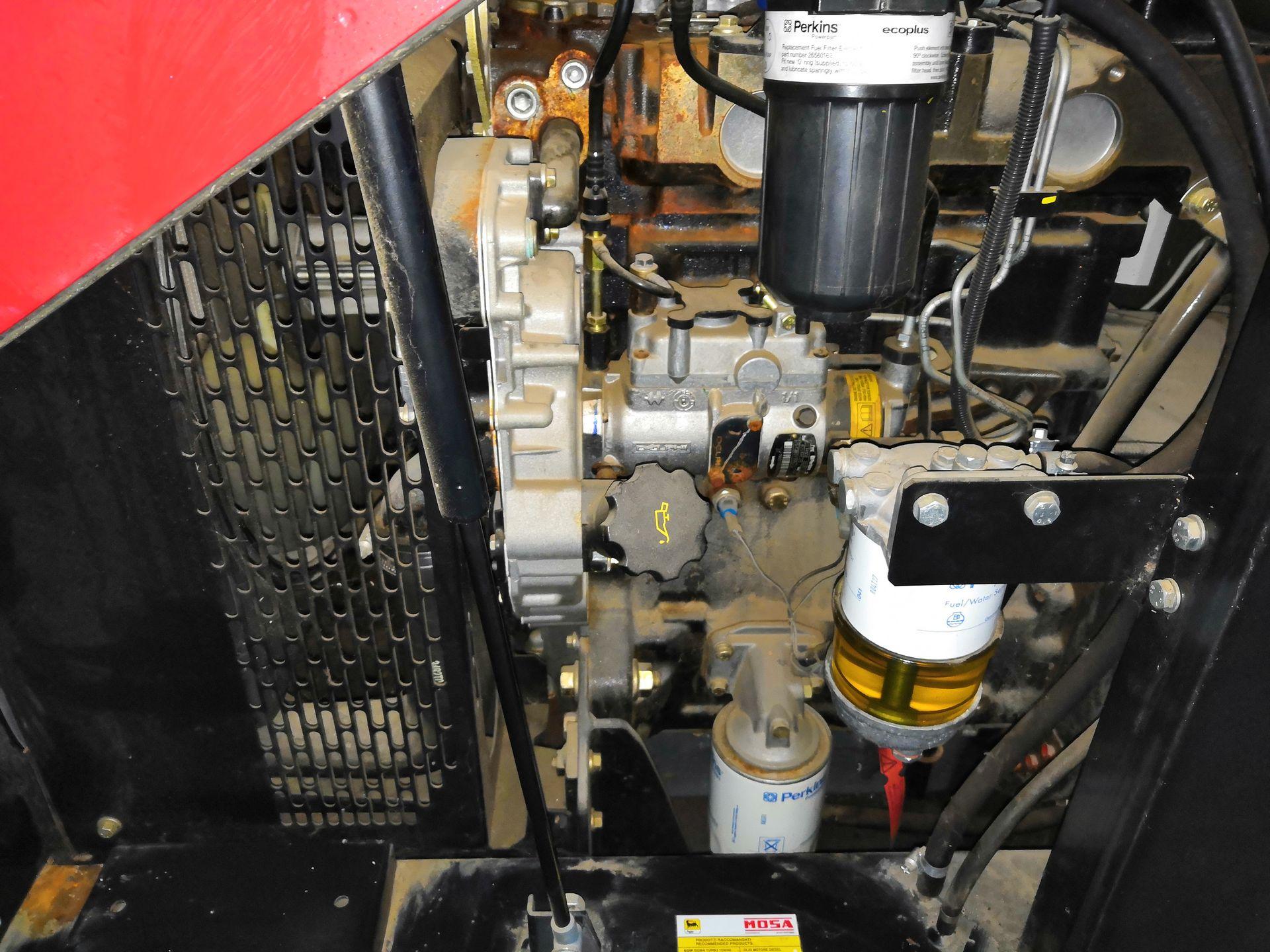 БУ Дизель-генератор MOSA GE 35 PS в кожухе 3