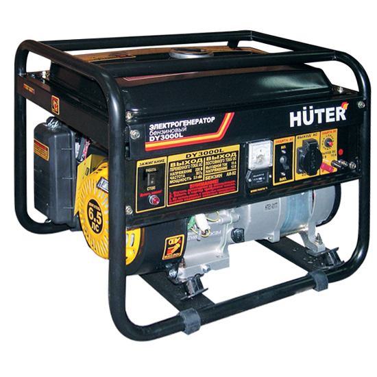 Бензогенетатор Huter DY 3000 L