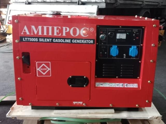 Внешний вид АМПЕРОС LT7500CLE в кожухе с автозапуском