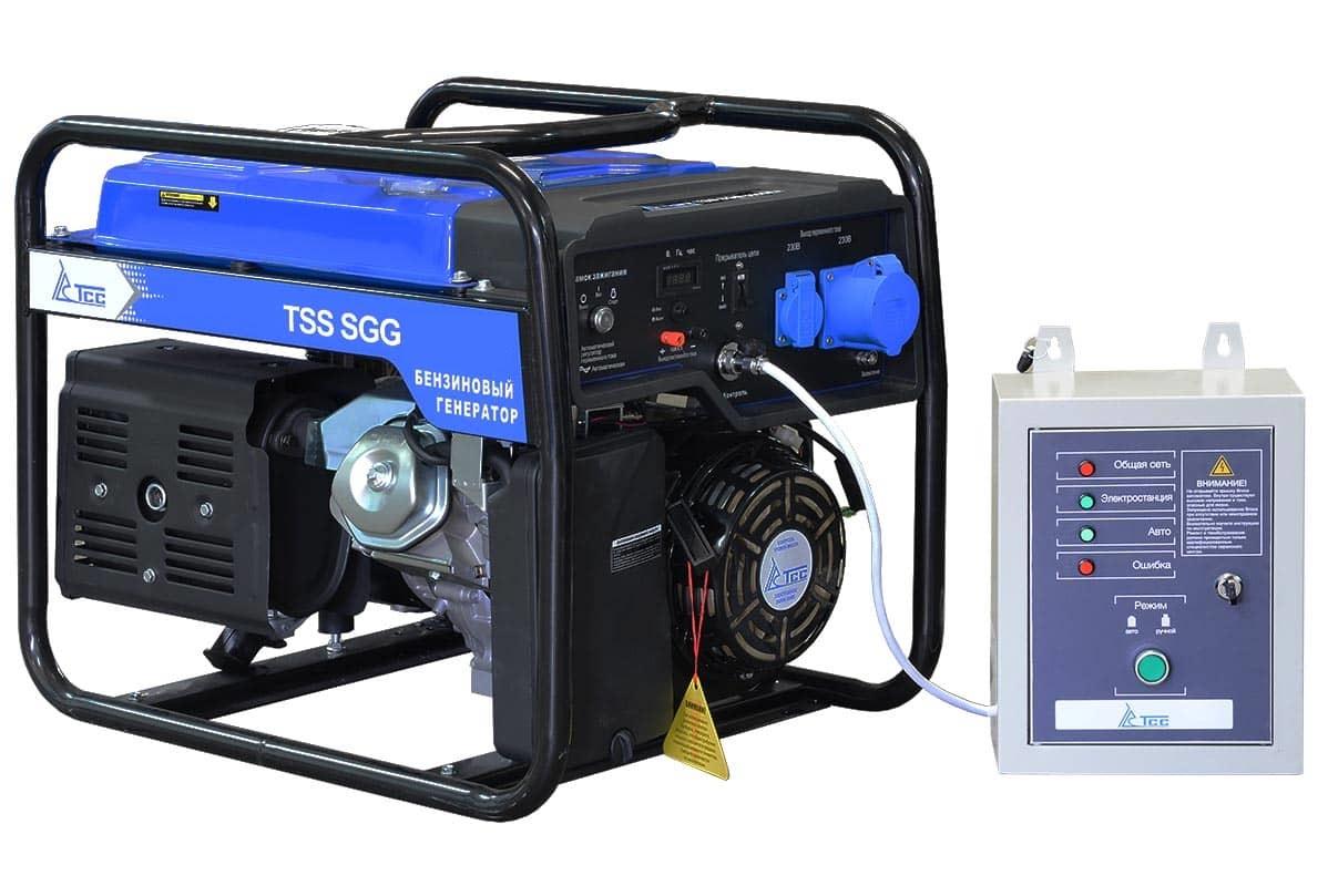 Бензогенератор TSS SGG 7000 EA с автозапуском АВР