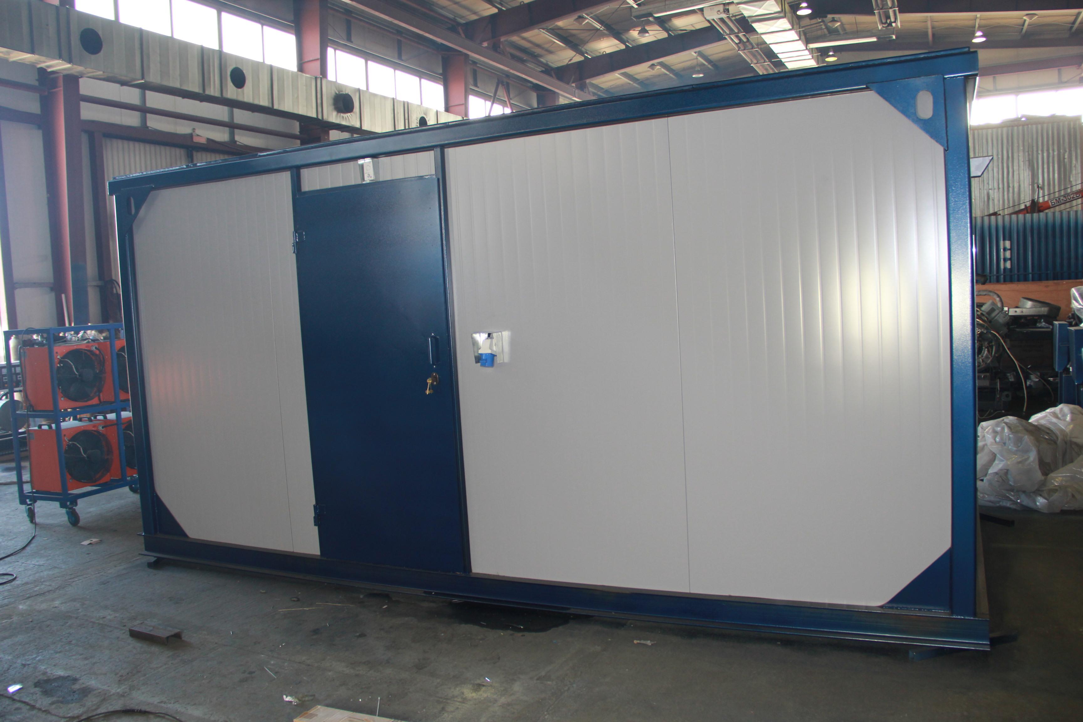 Внешний вид IVECO АД-136С-Т400-2РНИ с АВР в контейнере