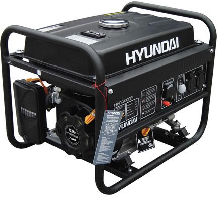 Бензогенератор Hyundai HHY 3010 F