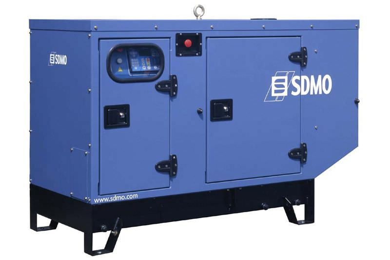 SDMO PACIFIC T11HKM в кожухе (1 фаза, 3000 об.)