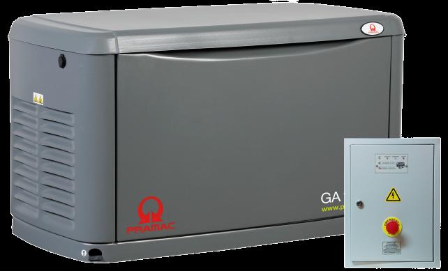 Внешний вид PRAMAC GA8000 с автозапуском