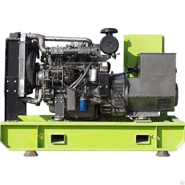 Дизельная электростанция MOTOR АД-250-Т400 открытая на раме