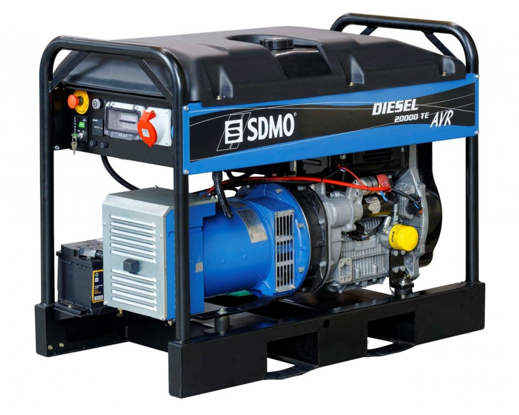 Внешний вид SDMO DIESEL 20000 TE XL AVR C