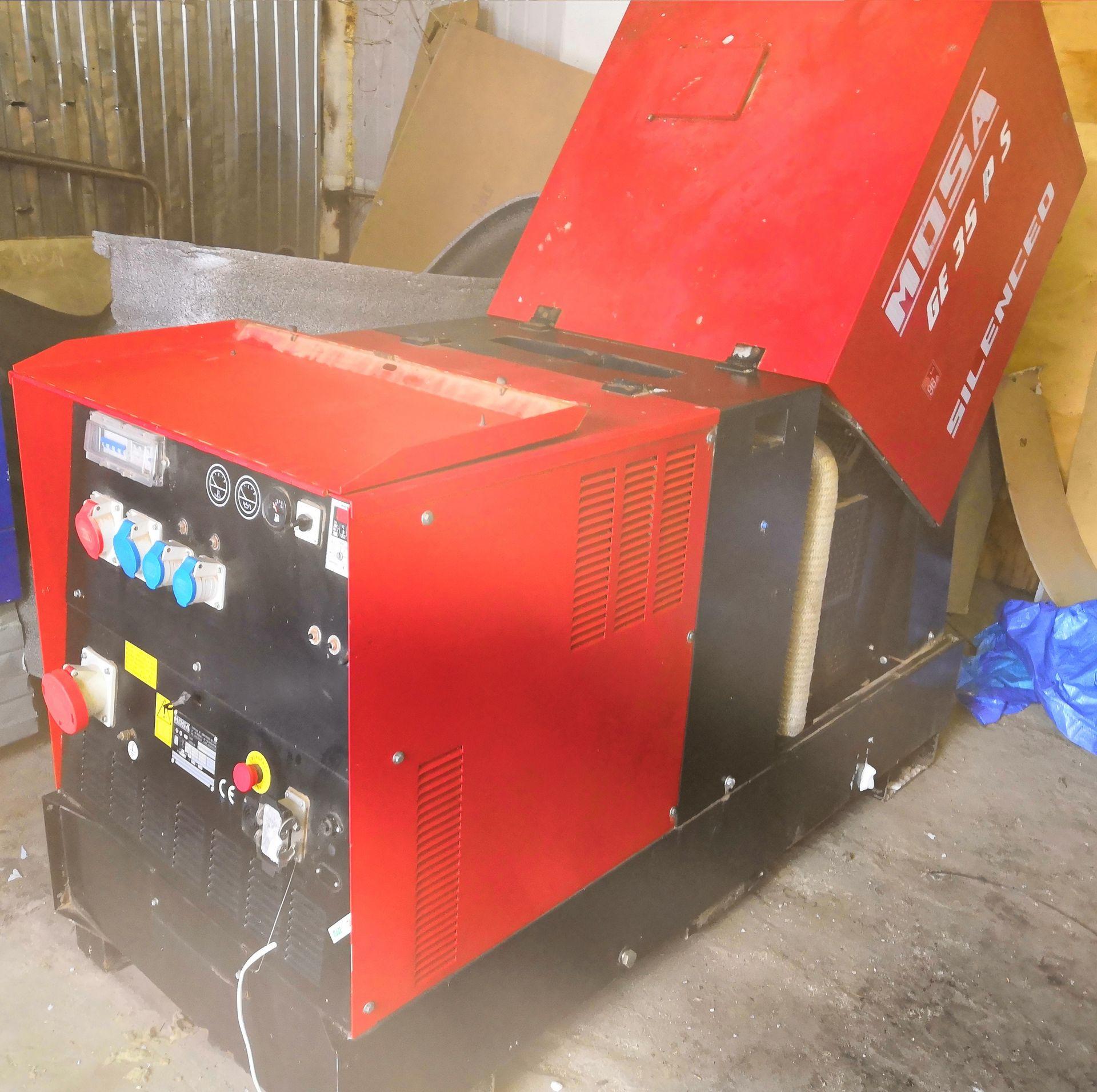 БУ Дизель-генератор MOSA GE 35 PS в кожухе 6