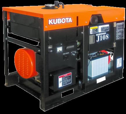 Внешний вид Kubota J108