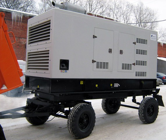 Внешний вид Азимут ЭД-360-Т400-1РП на шасси
