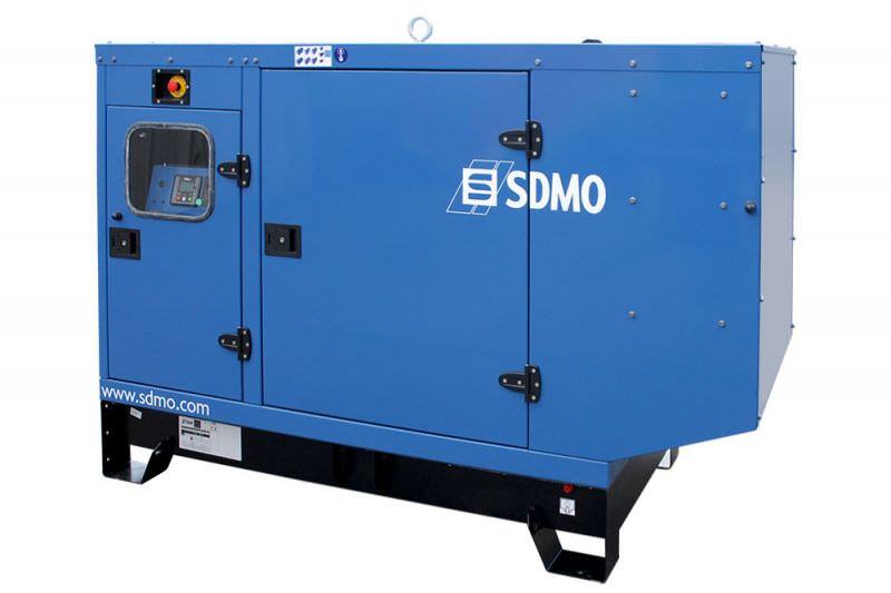 SDMO J66 в кожухе