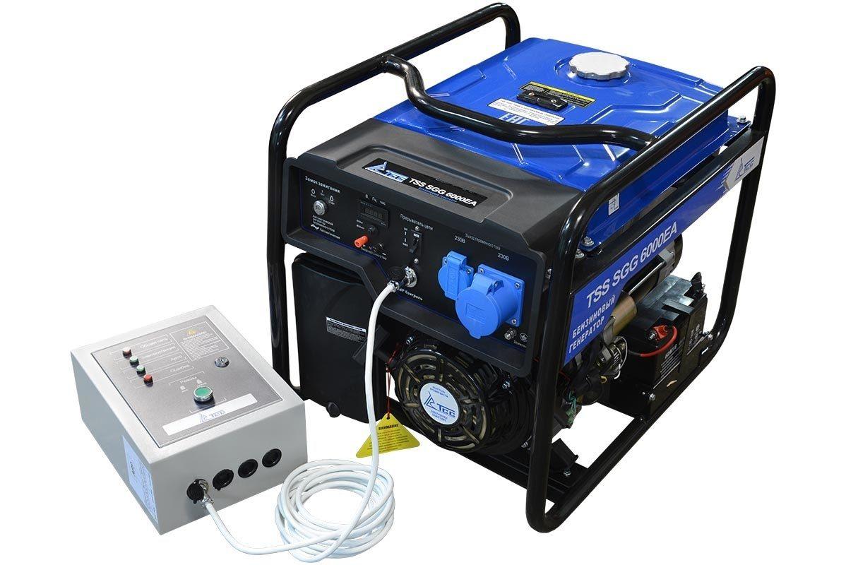 Бензогенератор TSS SGG 6000 EA с автозапуском