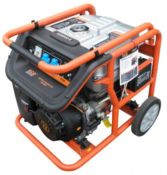 Бензогенератор MITSUI Power ECO ZM 7500 E под автозапуск