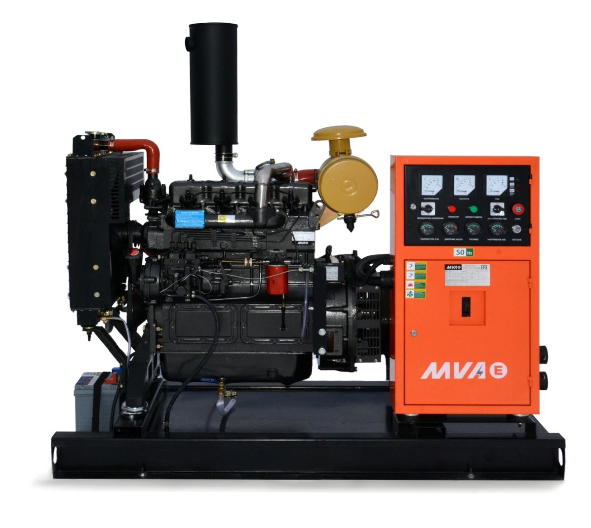 Внешний вид MVAE АД-30-230-АР на раме c АВР