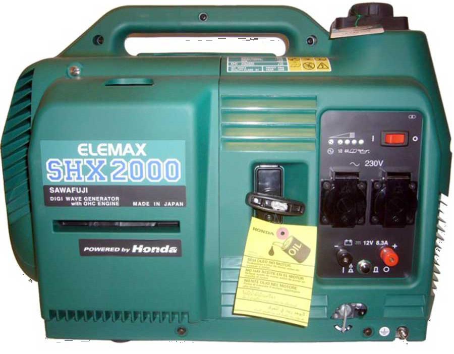 Инверторный генератор Elemax SHX 2000-R